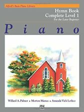 Alfred's Basic Piano Library Hymn Book Complete, Bk 1: For the Later Beginner…