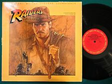 Promo ~ JOHN WILLIAMS Indiana Jones Raiders Of The Lost Ark LP OST Soundtrack