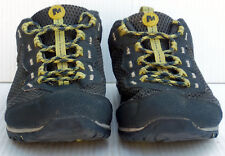 MERRELL - Men's Riverbed Trail Shoe Ebony/Oasis Athletic Sneakers SIZE - 9.5
