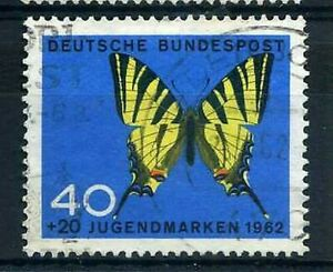 Germany Federal 1962, Stamp 251, Butterfly, Obliterated