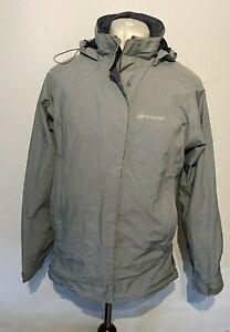 Sprayway Women's Waterproof Jacket Gore-tex Grey UK 10 Small 100% Polyester