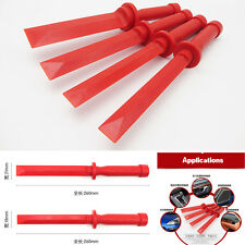 4pcs Red Car SUV Door Panel Trim Audio Radio Dashboard Open Removal Pry Tool Kit