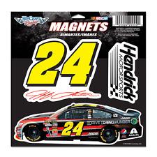 "New NASCAR Jeff Gordon #24 11""x11"" Die Cut Magnet Sheet"