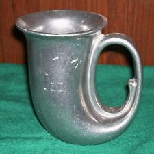 "Rugged ""Pewter"" Ale Horn, USA"