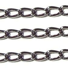 5 meters Black Mini Cable Chain - 1.3x1.3mm - A5407
