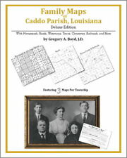Family Maps Caddo Parish Louisiana Genealogy LA Plat