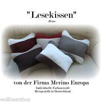 Cuscino per il Collo Lesekissen Decorativo Cuscino Con Imbottitura IN Palline