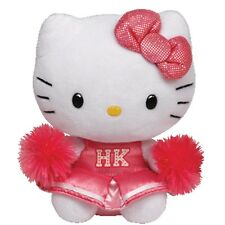 "Ty Beanie Hello Kitty Pink Cheerleader Plush Toy Doll - 5"" New"