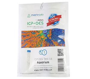 Marinlab ICP 1 Lab Test Kit Salt Water Aquarium Fish Marine Reef Not Triton ATI
