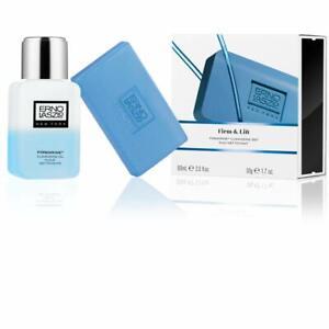 ERNO LASZLO Firm & Lift Firmarine Cleansing Set Oil Bar Soap 2 Piece NeW BoX