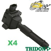 TRIDON IGNITION COIL x4 FOR Mercedes  C180 W203 11/00-11/02, 4, 2.0L M111.951