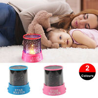 Children Star Projection Cool Night Light Sky Led Projector Lamp Kid Bedroom