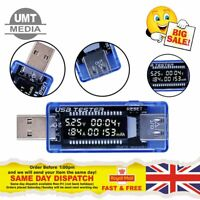 LCD USB Detector Voltmeter Ammeter Voltage Power Capacity Tester Current Meter
