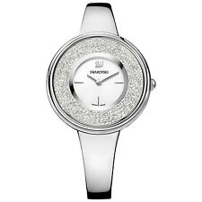 Swarovski 5269256 Crystalline Pure Watch Silver Case, Swiss Made RRP $499