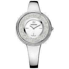 Swarovski 5269256 Crystalline Pure Watch Silver Case Swiss Made
