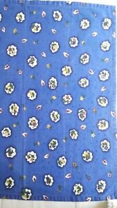 Lot Of 4 French Country Blue Floral Napkins