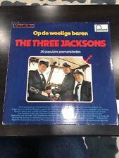 Op De Woelige Baren The Three Jacksons Record Album Rare