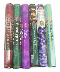 HEM assorted best sellers incense sticks pack of 6 - 120 Sticks Free Shipping