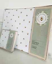 Botanical Bee Bumble Bees 4 Placemats / 4 Coasters TABLE DINING