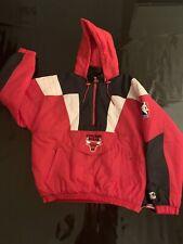 Starter chaqueta chicago bulls size l Retro Vintage nba 🏀 🏀 🏀 bulls Starter Jacket