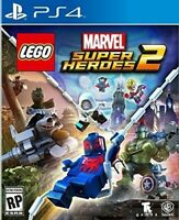 PLAYSTATION 4 PS4 VIDEO GAME LEGO MARVEL SUPER HEROES 2 NEW AND SEALED