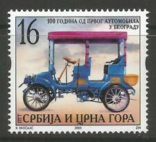 STAMPS-SERBIA. 2003. First Motor Vehicle in Belgrade Commemorative. SG: 22. MNH