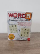 Word Q The Jumbled Crossword Brainteaser Brand NEW in Package