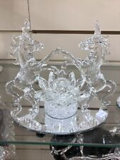 Crushed Crystal Unicorns Romany Bling Lights Up Mirrored Home Decor