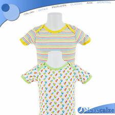Coppia body neonato manica corta  in cotone  bimbo tg da 24 a 36 mesi  7BSBOD001