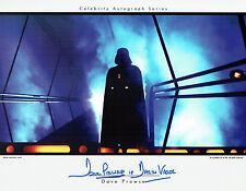 Dave PROWSE SIGNED Autograph Darth VADER Film RARE Star Wars PRINT AFTAL COA
