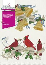 Christmas Ribbons Anita Goodesign Embroidery Machine Design CD NEW 147AGHD