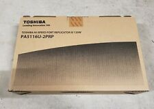 Toshiba PA5116U-2PRP Hi-speed Port Replicator III 120w (pa5116u2prp) SEALED BOX