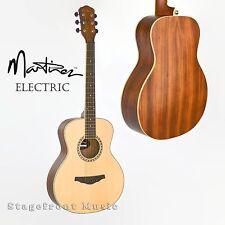 MARTINEZ MINI JUMBO ACOUSTIC / ELECTRIC GUITAR ZEBRAWOOD BACK & SIDES *BRAND NEW