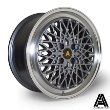"Autostar MINUS 17"" x 8"" 4x100 et30 alloys fit VW BMW E30 POLO UP MINI"