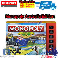 Monopoly Australian Collectors Edition Family Board Game For Kids Classic NEW
