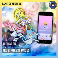Pokemon Go Legendary Lake Guardians Azelf, Uxie or Mesprit Guaranteed Catch