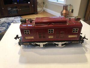 Lionel prewar running 8E engine  standard gauge Red Very nice condition