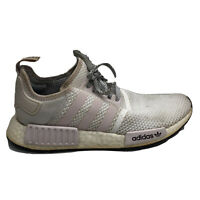 Adidas NMD R1 Orchid Running Shoes Womens Size 8.5 8 1/2 White Pink Sneakers