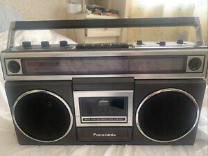 Vintage Panasonic Radio Cassette Player RX - 5012LE
