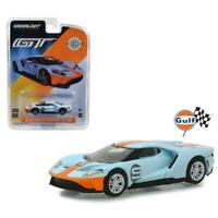 "GREENLIGHT 29909 2019 FORD GT #9 ""GULF"" HERITAGE EDITION DIECAST CAR 1:64"