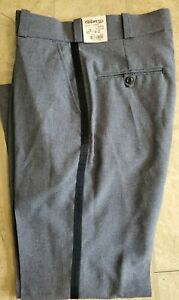 USPS Elbeco Uniform Pants Black Stripe Brand New With Tags size 33 style E1365S