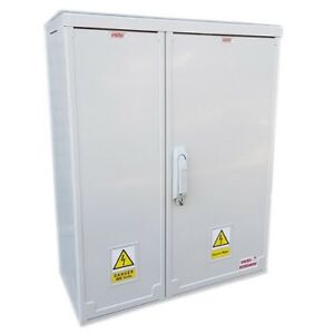 EMITER  660mm x 800mm x 320mm 3-Phase Surface Mounted Electricity Meter Box