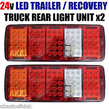 DEL 24 V 5 chambre Stop Tail Brake Light For Recovery Truck camion remorque benne