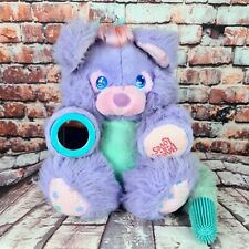 More details for brush-a-loves amtoy vintage 1987 purple posy plush lilac 11