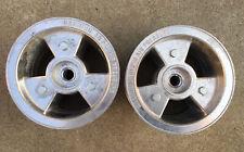 "6"" Aluminum Gokart Wheels Split Rims 1"" to 3/4"" Step Live Axle AZUSA"
