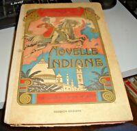 NOVELLE INDIANE di R.F. SAPORITI - ed. HOEPLI MILANO 1925