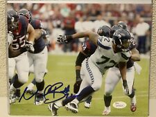 Michael Bennett Signed Seattle Seahawks 8x10 Photo JSA