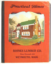 1925 PRACTICAL HOMES Architecture House CATALOG Arts & Crafts Bungalow COLOR