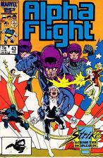 ALPHA FLIGHT (1983) #43 - Back Issue