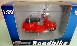 SCOOTER VESPA PIAGGIO Collection 1/20e Neuf MOTO RETRO Teamster Roadbike